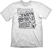 Shovel Knight T-Shirt Shovel Justice WhiteShovel Knight...