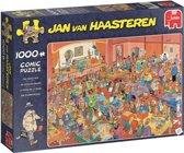 De Goochelbeurs Jan van Haasteren puzzel 1000 Stukjes