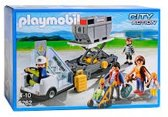 Playmobil Vliegtuigtrap met Passagiers - 5262