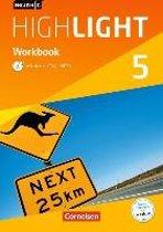 English G Highlight Band 5: 9. Schuljahr - Hauptschule - Workbook mit Audio-CD