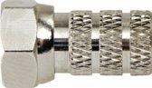 F-Connector Female / Male Nylon 6.6 Silver