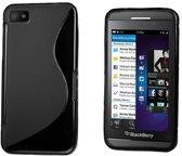Gel hoesje S-line zwart BlackBerry Z10