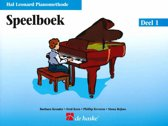 SPEELBOEK - De Hal Leonard Piano Methode 1