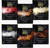 Time 4 Nutrition Whey Eiwitten Proteïne Shake - 6 Zakjes (1 van elke smaak)