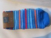 Lief! Lifestyle sokken hard blauw maand 0/6
