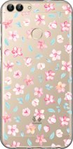 Huawei P Smart (2018) hoesje - Softcase - Floral