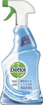 Dettol Power & Fresh Spray Katoenfris - 500 ml - Allesreiniger