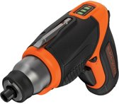 BLACK+DECKER accu schroevendraaier - 3.6V Lithium Ion - USB Lader 1.5Ah koppel 6Nm