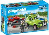 Playmobil Voertuig groenbeheer met grasmaaier - 6111