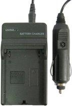 Digitale camera batterijlader voor Samsung S1974 (zwart)