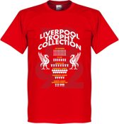 Liverpool Trophy Collection T-Shirt - S