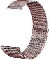iCall Milanees bandje - Fitbit Versa - Roségoud/Roze