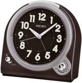 Seiko wekker met selecteerbaar alarmgeluid ( Bel of piep )