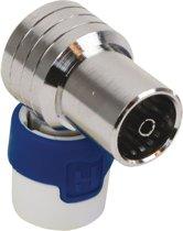 Hirschmann KOKWI5 Coax plug HF-dicht haaks female - 4G/LTE proof