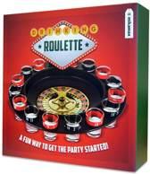 MikaMax Roulette Drankspel 16 glaasjes Drankspelletjes