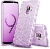 Samsung Galaxy S9 / Samsung S9 hoesje ESR Vogue Makeup – 3 lagen bescherming – PAARS & Glitters