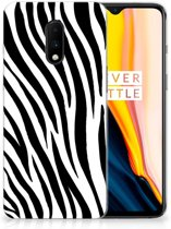 OnePlus 7 TPU Hoesje Zebra