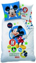 Disney Mickey Mouse Expressions - Dekbedovertrek - Eenpersoons - 140 x 200 cm - Multi