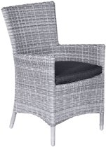 Garden Impressions - Costa dining fauteuil - cloudy grey