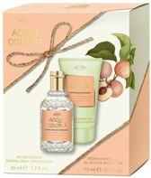 4711 Acqua Colonia White Peach & Coriander Gift set 2 st.