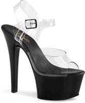 EU 35 = US 5   ASPIRE-608   6 Heel, 2 1/4 PF Vegan Friendly Ankle Strap Sandal