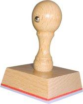 Handstempel 55x50 Mm | Stempel laten maken | Stempel met uw afbeelding en tekst | Bestel nu!