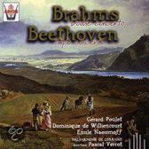 Brahms: Double Concerto; Beethoven / Verrot et al