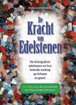 De Kracht van Edelstenen Set (boek en ongebleekt katoenen zakje met 12 edelsteentjes)
