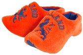 Clogs pantoffels oranje 46-47