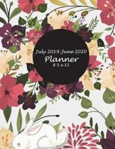July 2019-June 2020 Planner 8.5 X 11
