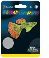 Superfish fluo guppy voor fluo aquarium