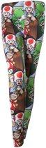 Nintendo - Karakters all over print legging multicolours - Games merchandise Super Mario - L