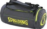 Spalding Duffle Bag sporttas zwart/geel 40L