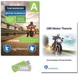 Motor Theorie Boek 2019 – Motor Theorieboek Rijbewijs A met Motor Examens Oefenen USB en Samenvatting - Rijbewijs A Motor Theorie Leren (NIEUW!)