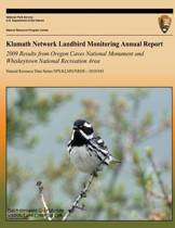 Klamath Network Landbird Monitoring Annual Report - 2009 Results from Oregon Caves National Monument and Whiskeytown National Recreation Area