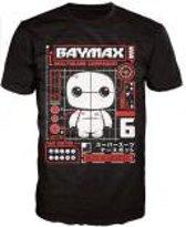 Merchandising BIG HERO 6 - T-Shirt POP - Baymax Tech (XL)