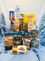 Kerstpakket Italie cadeaupakket voor mannen vrouwen kerst pakket kerstpakketten pizza schep pasta