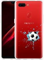 Oppo R15 Pro Hoesje Soccer Ball