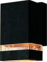 Fin-Motion buitenlamp - wandmodel - type 21038 - kleur zwart