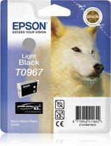 Epson T0967 - Inktcartridge / Licht Zwart