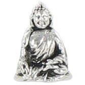 Quiges Bedel Bead - 925 Zilver - Boeddha Kraal Charm - Z485