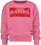 Vingino Meisjes War Child collectie Sweater - Deep Pink - Maat 116