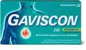 Gaviscon 250 Kauwtabletten Pepermunt - Maagzuurremmer - 32 stuks