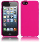 Xssive TPU Back Cover en 1x Tempered Glass voor Sony Xperia Z5 - TPU - Gelly - Raspberry Pink