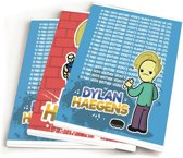 DYLAN HAEGENS TEAM SCHRIFT A5 3-Pack 10X4,95 - BTS 18-19