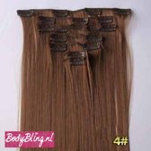 Clip in hairextensions 7 set straight bruin - 6#