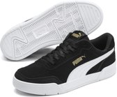 PUMA Caracal SD Jr Sneakers Kinderen - Puma Black-Puma White-Puma Team Gold - Maat 36