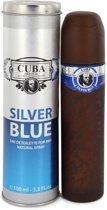 Cuba Paris Silver Blue Eau De Toilette Spray 100ml