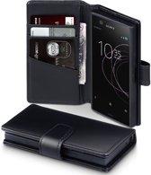 Sony Xperia XZ1 Compact hoesje - CaseBoutique - Cognac - Leer