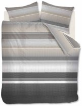 Beddinghouse Arkansas - Dekbedovertrek - Lits-jumeaux - 240x200/220 cm + 2 kussenslopen 60x70 cm - Grey